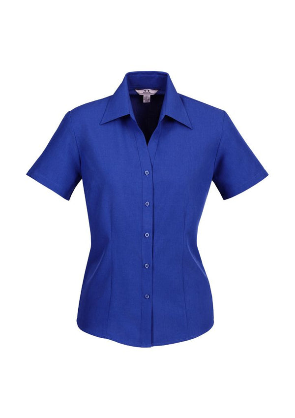 Biz Collection LB3601 Ladies Plain Oasis Short Sleeve Shirt