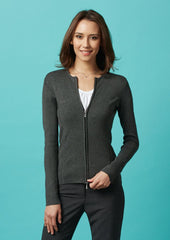 LC3505 Ladies Way Zip Cardigan