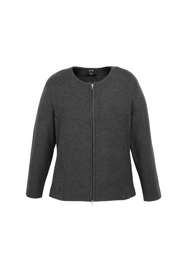Biz Collection LC3505 Ladies Way Zip Cardigan