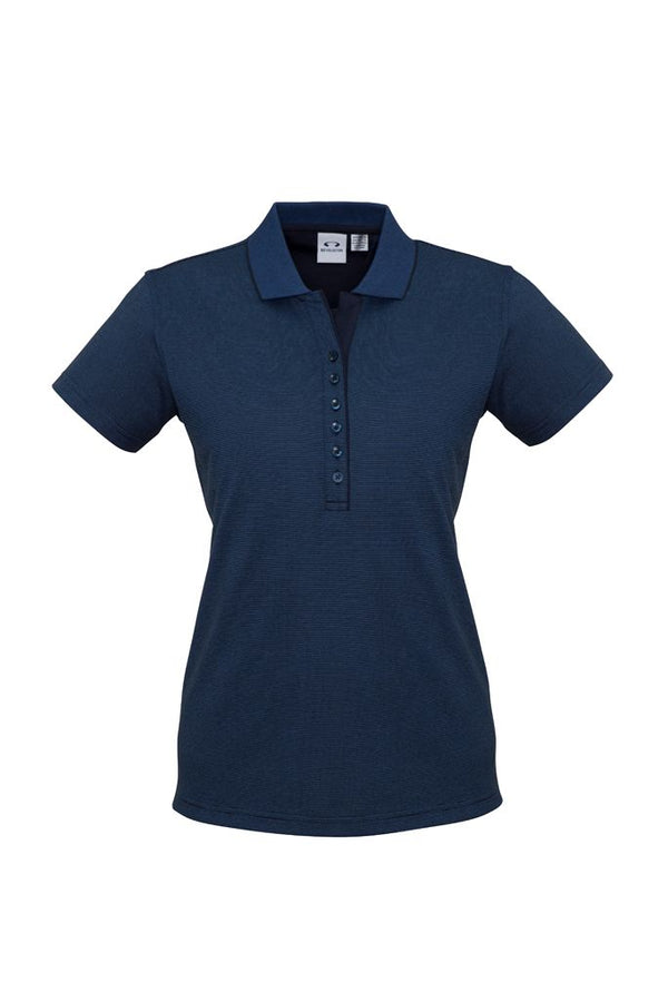 Biz Collection P501LS Ladies Shadow Polo