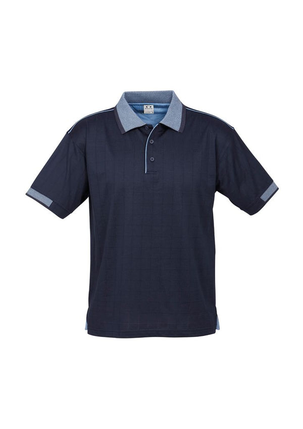 P9100 Mens Noosa Self Check Polo