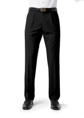 Biz Collection BS29110 Mens Classic Pleat Front Pant