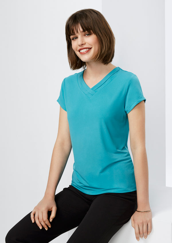 Biz Collection K819LS Ladies Lana Short Sleeve Top
