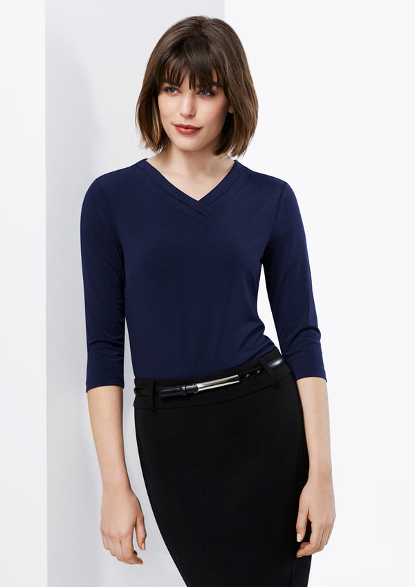 Biz Collection K819LT Ladies Lana Sleeve Top
