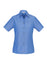 Biz Collection LB6200 Ladies Wrinkle Free Chambray Short Sleeve Shirt