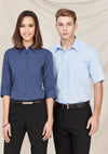 Biz Collection LB8200 Ladies Micro Check Sleeve Shirt