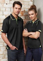 Biz Collection P29012 Mens Fusion Polo