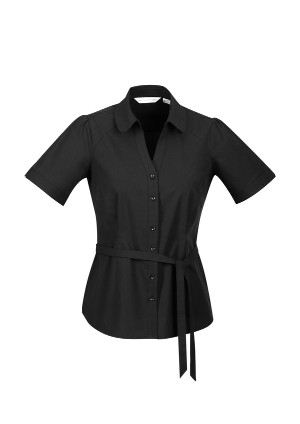 Biz Collection S261LS Ladies Berlin Y Line Shirt