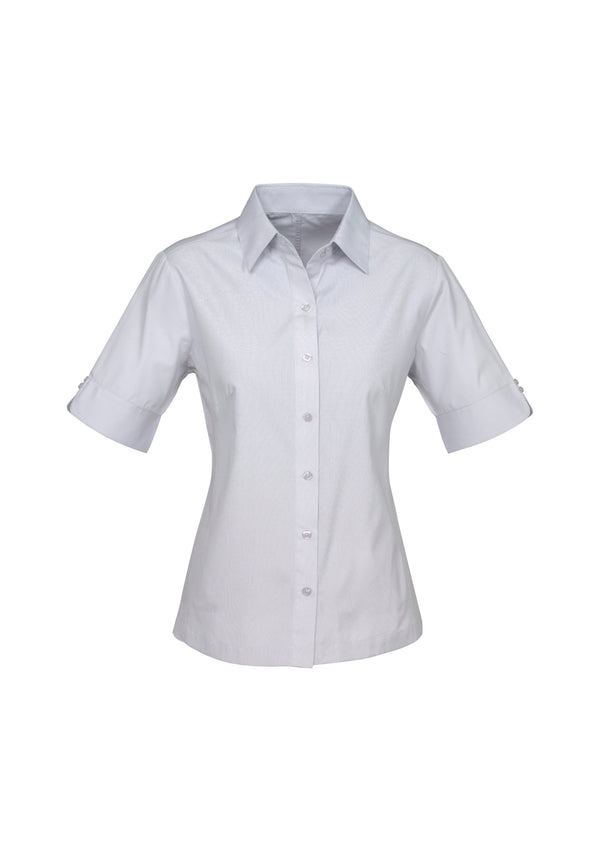 Biz Collection S29522 Ladies Ambassador Short Sleeve Shirt