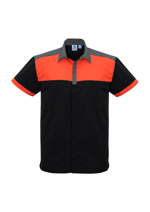 Biz Collection S505MS Mens Charger Shirt