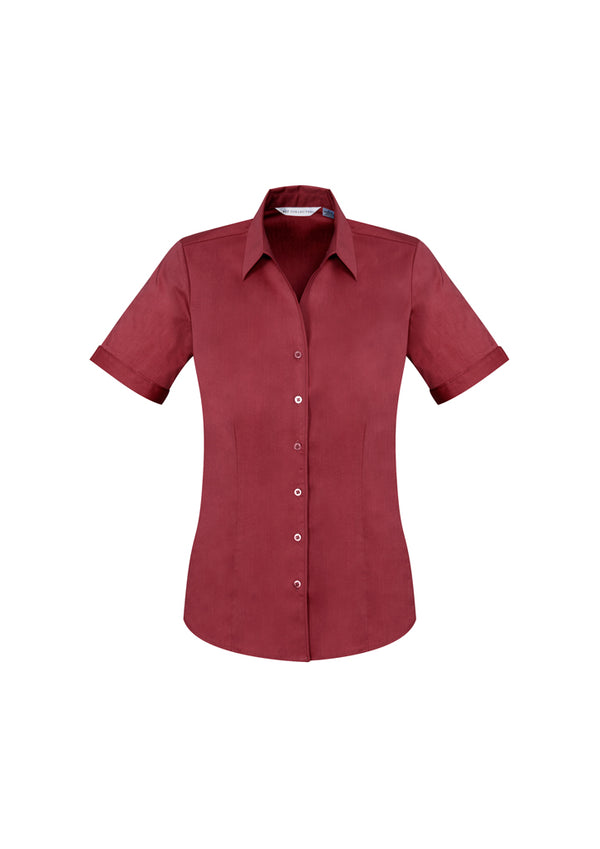 Biz Collection S770LS Ladies Monaco Short Sleeve Shirt