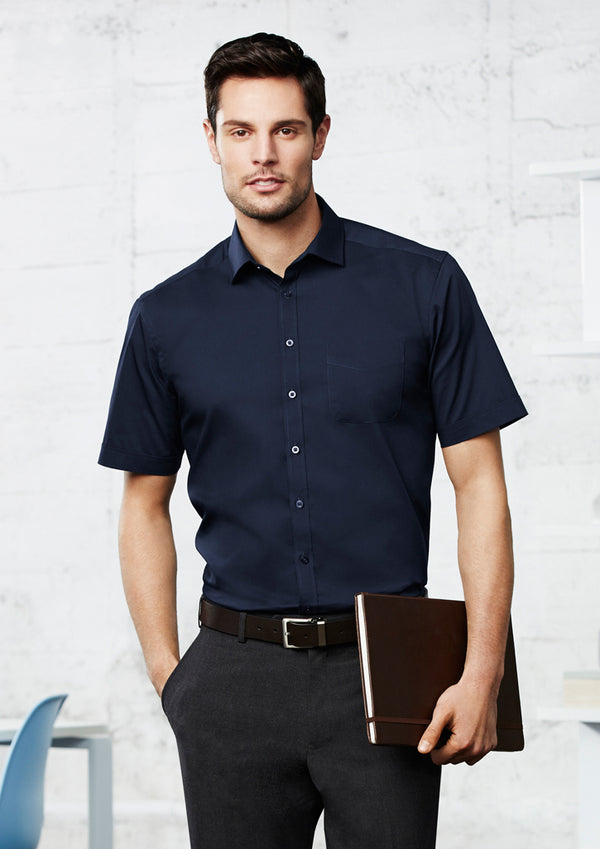 Biz Collection S770MS Mens Monaco Short Sleeve Shirt