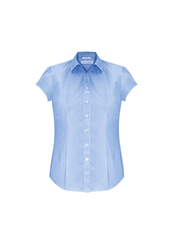 Biz Collection S812LS Ladies Euro Short Sleeve Shirt