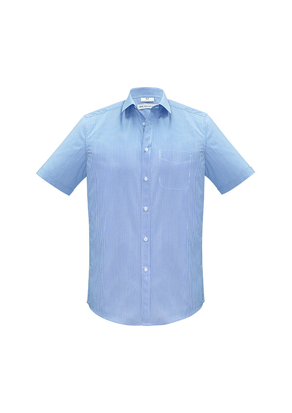 Biz Collection S812MS Mens Euro Short Sleeve Shirt