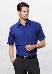 Biz Collection SH715 Mens Metro Short Sleeve Shirt