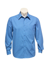 Biz Collection SH816 Mens Micro Check Long Sleeve Shirt