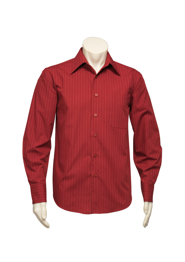 Biz Collection SH840 Mens Manhattan Long Sleeve Shirt
