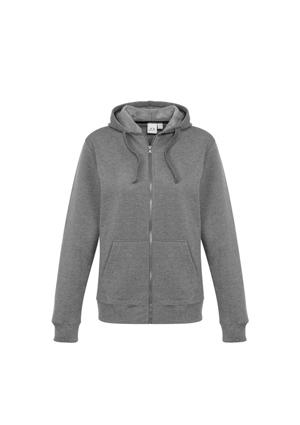 Biz Collection SW762L Ladies Crew Zip Hoodie