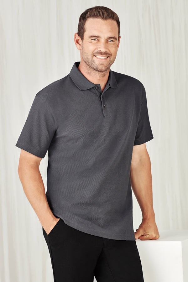Bizcare P400MS Mens Crew Polo