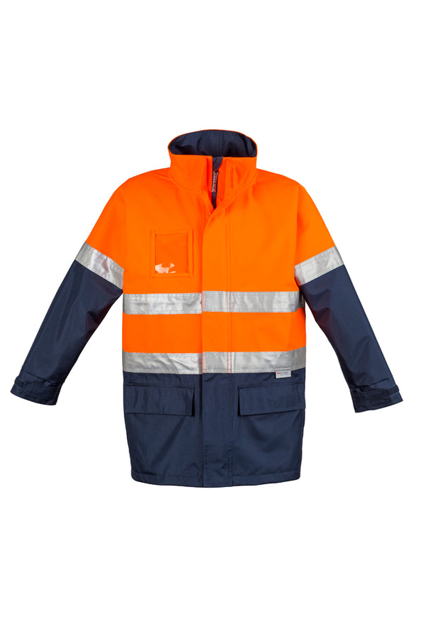 Syzmik ZJ355 Mens Hi Vis Waterproof Lightweight Jacket