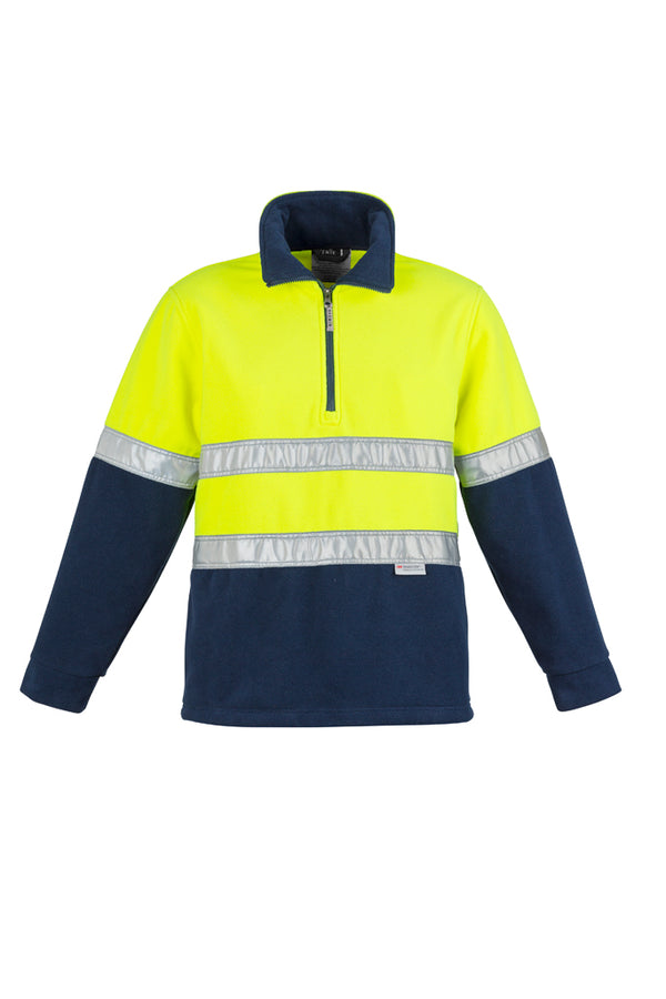 Syzmik ZT461 Mens Hi Vis Fleece Jumper - Hoop Taped