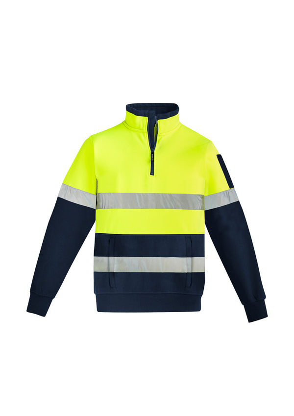 Syzmik ZT566 Mens Hi Vis 1/4 Zip Pullover - Hoop Taped