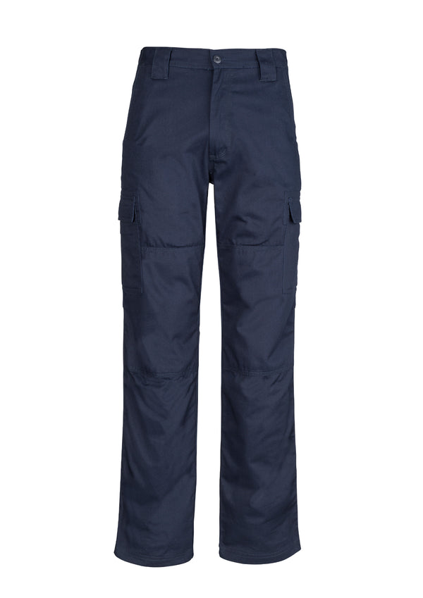 Syzmik ZW001S Mens Midweight Drill Cargo Pant (Stout)