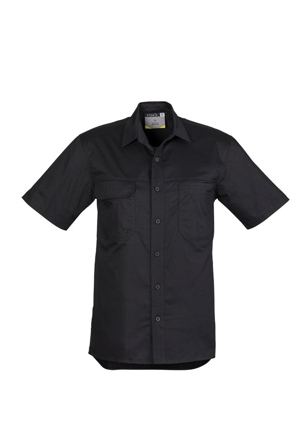 Syzmik ZW120 Mens Light Weight Tradie S/S Shirt