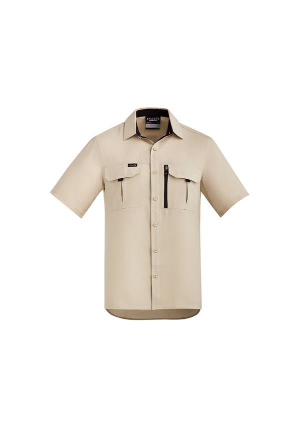 Syzmik ZW465 Mens Outdoor S/S Shirt