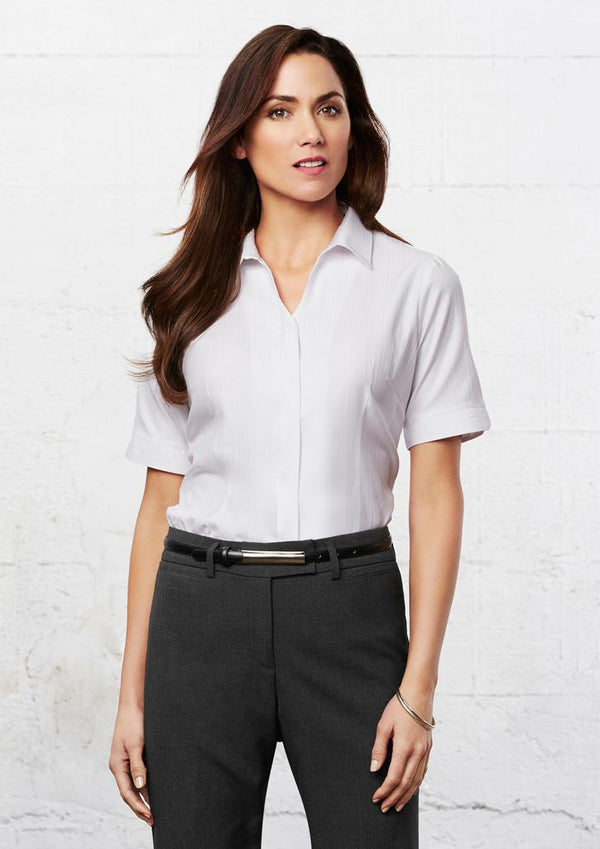 Biz Collection S312LS Ladies Preston Short Sleeve Shirt