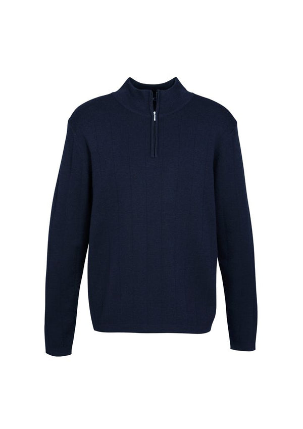 Biz Collection WP10310 Mens Wool Rich Pullover