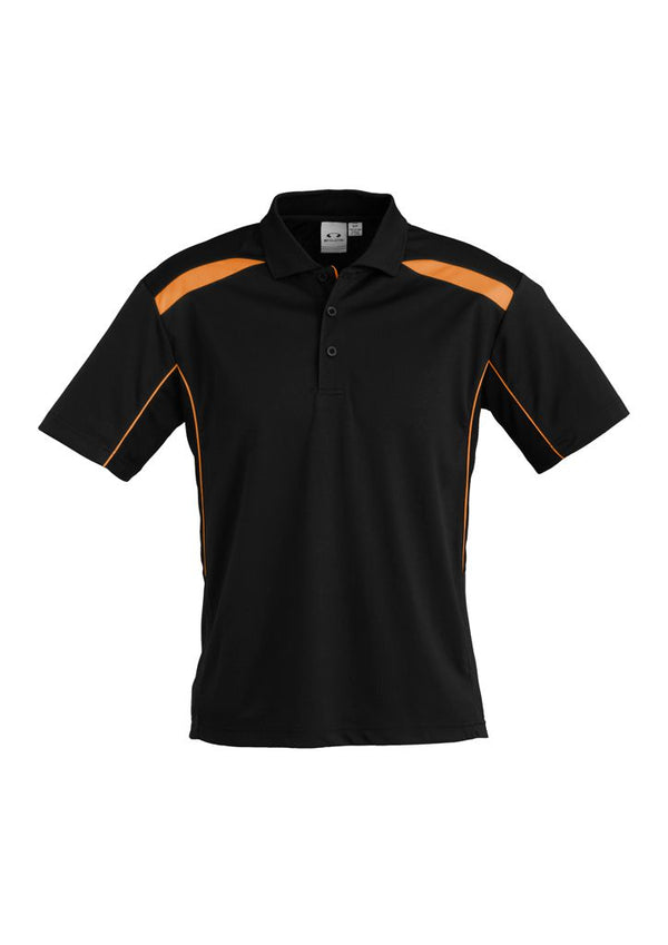Biz Collection P244MS Mens United Short Sleeve Polo