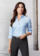 Biz Collection S312LT Ladies Preston Sleeve Shirt