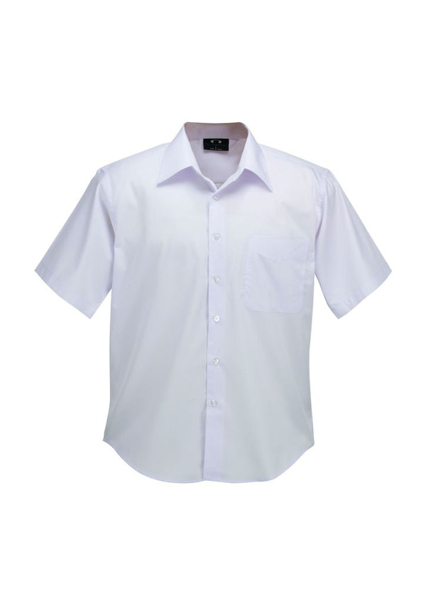 Biz Collection SH3603 Mens Plain Oasis Short Sleeve Shirt