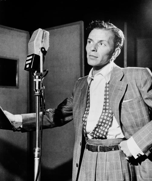 "Frank Sinatra's first hit, recorded with jazz musician Tommy Dorsey in 1940, was a song called ""Polka Dots and Moonbeams."""