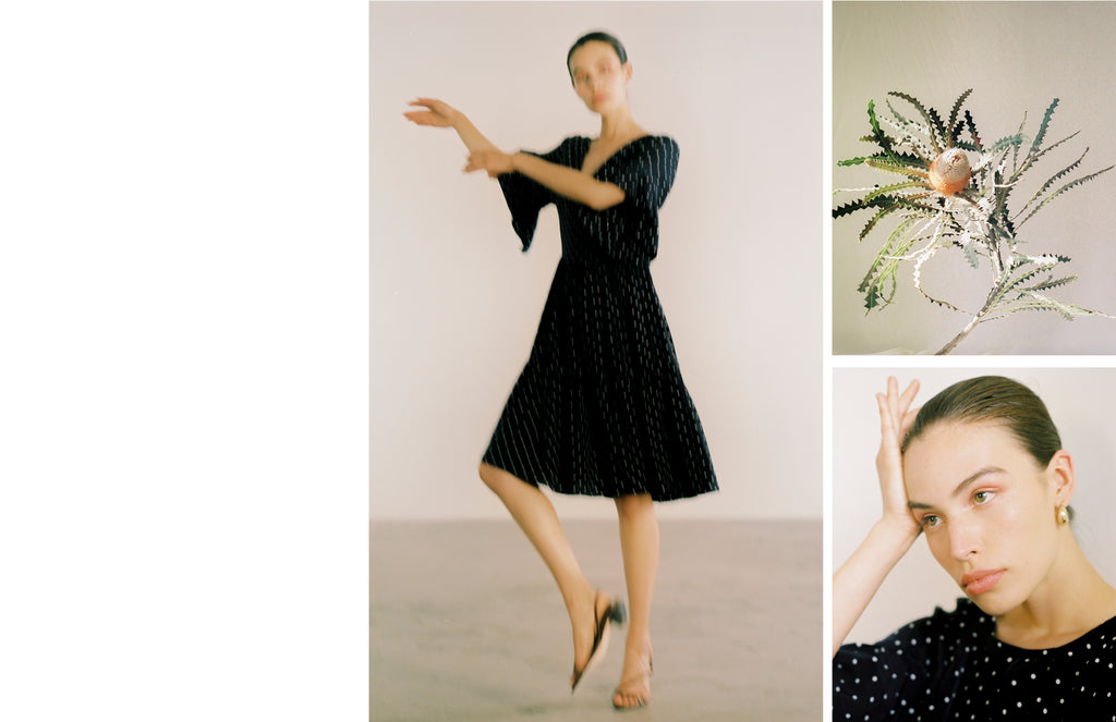 Maria Stanley Spring Summer 2019 Gayle dress polka dot