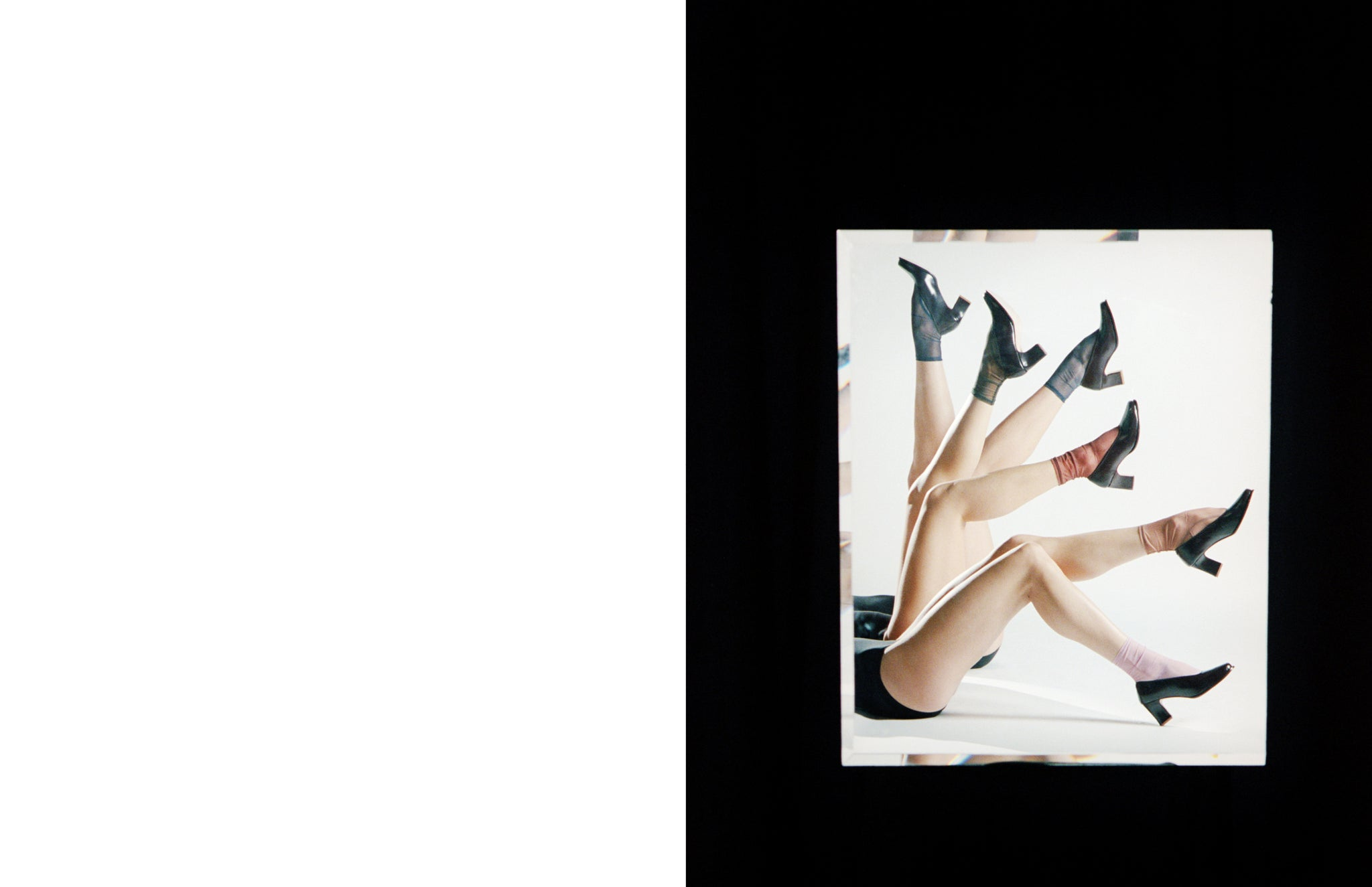 Maria Stanley ballerina shoe campaign by Michael J Spear