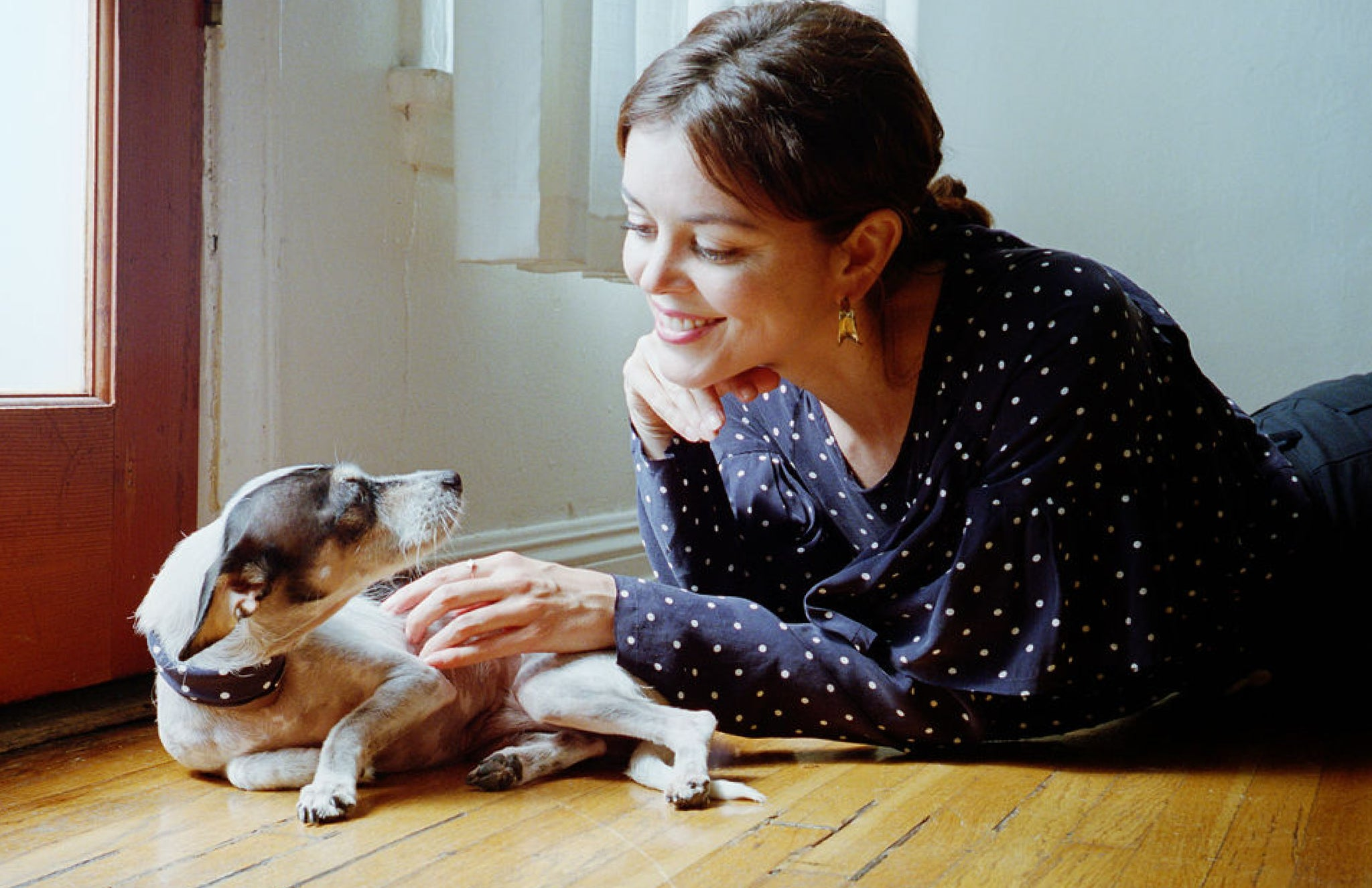 Nora Zehetner for Maria Stanley by Michael J Spear for a dogs life rescue