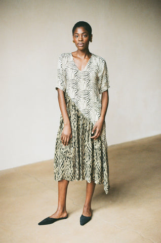 GEETA DRESS | zebra-tigre