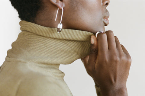 TURTLENECK | sage | organic + earth dyed