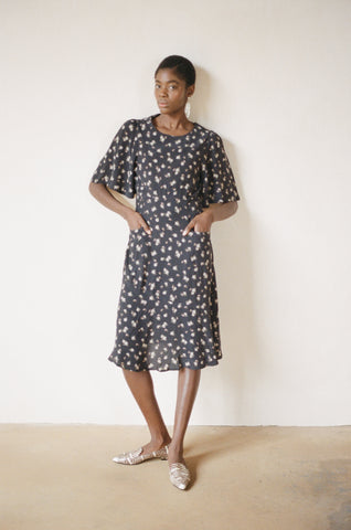 HAILEY DRESS | botanical | size S