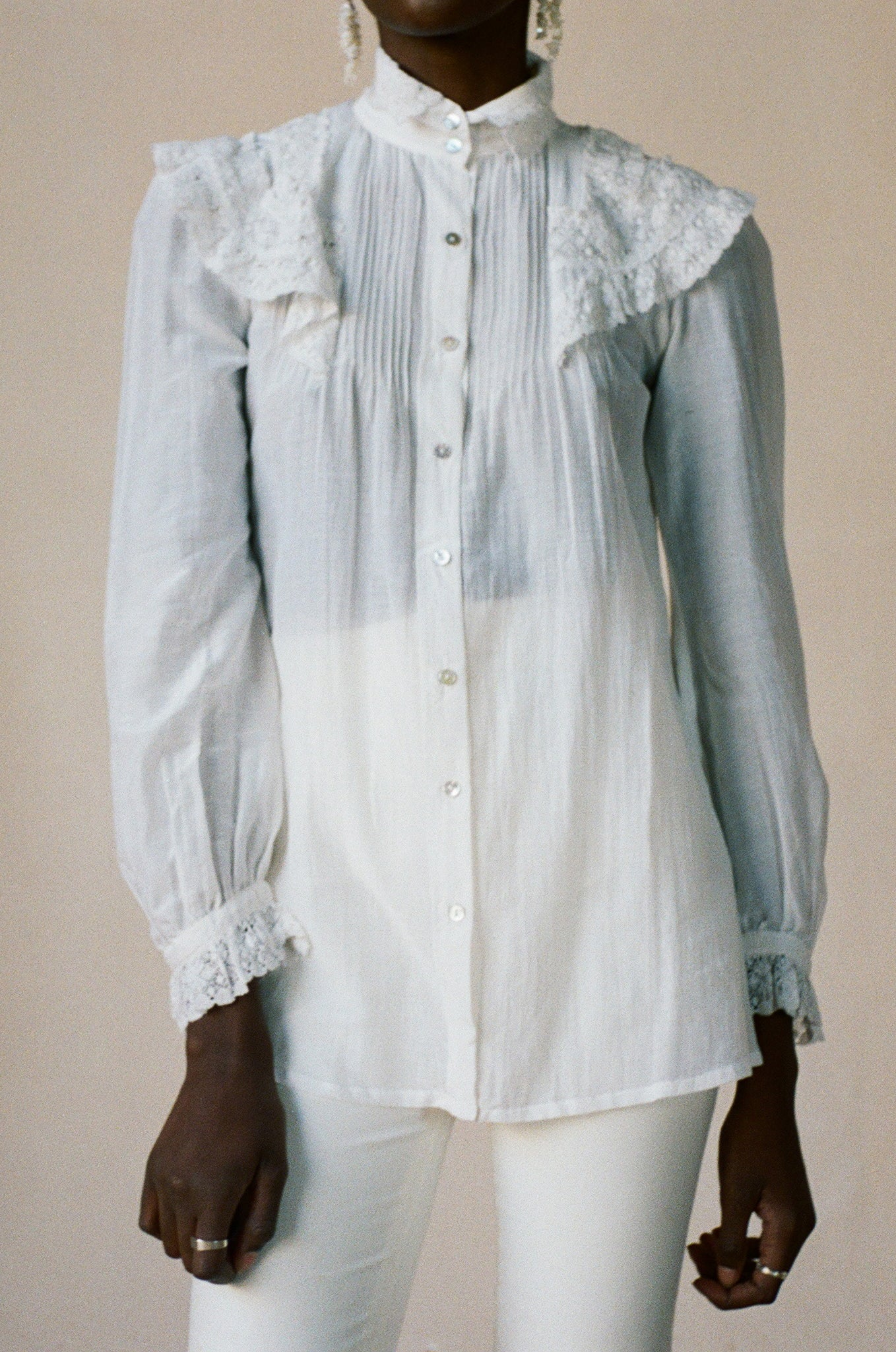 MAYA BLOUSE | salt