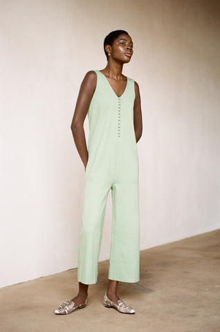 MERCURY JUMPSUIT | mint | organic