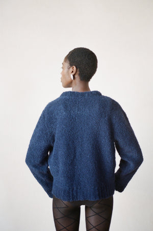 VIRGIL SWEATER | navy