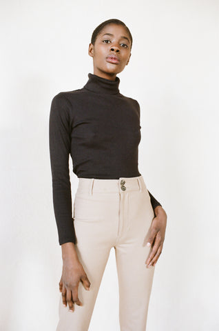 TURTLENECK | noir | organic