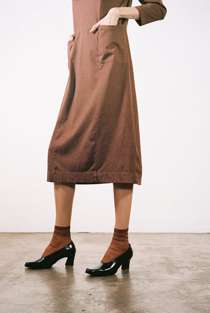 SCHULTZ DRESS | clove