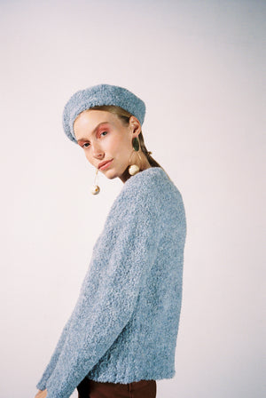 VIRGIL SWEATER | cloud