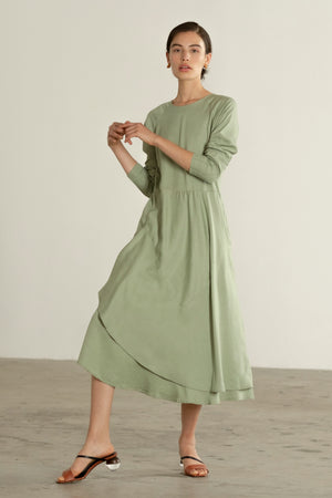 WILLA DRESS | celadon