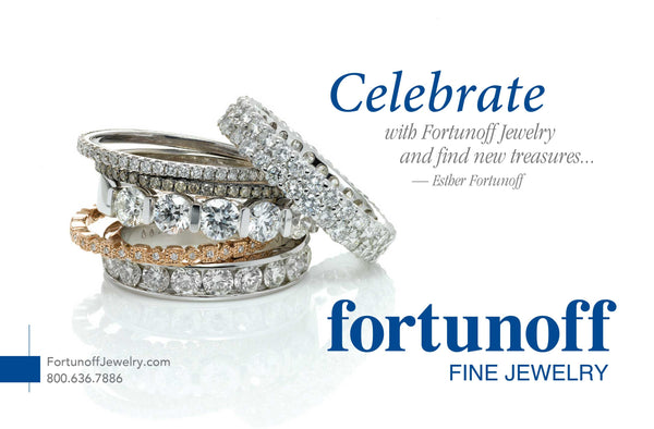 Fortunoff Jewelry Catalog cover - 2017