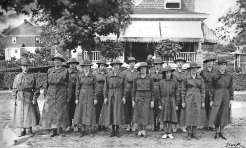Girls Scouts 1919
